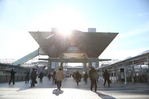 Figure 1: The Big Sight International Exhibition Center in Tokyo hosted Nanotech 2015