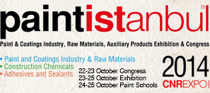 paint-istanbul 2014 exhibition and glonatech