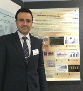 Figure: Dr. Stephanos Nitodas presented a poster based on Glonatech's recent research